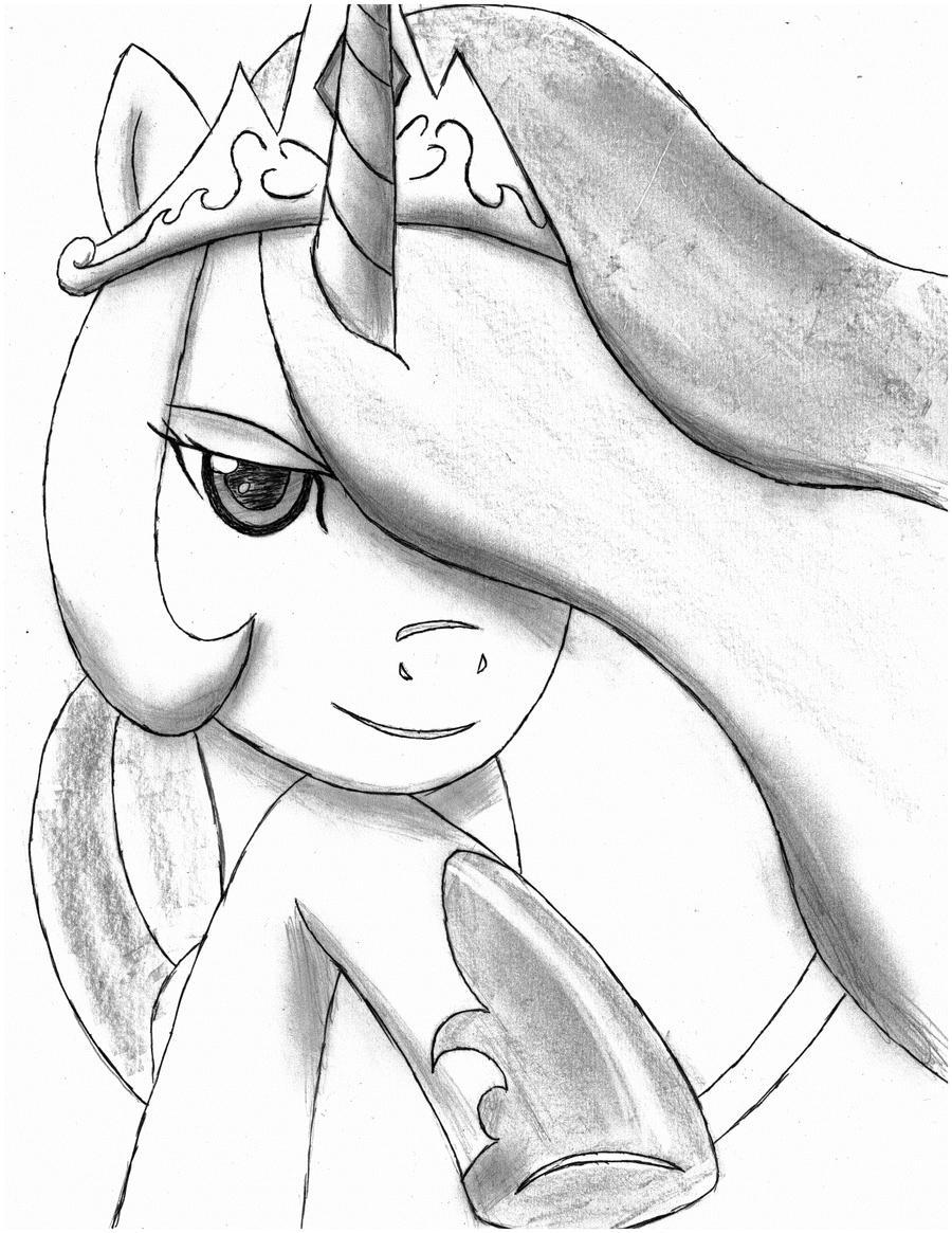 princess celestia by HayatoTL