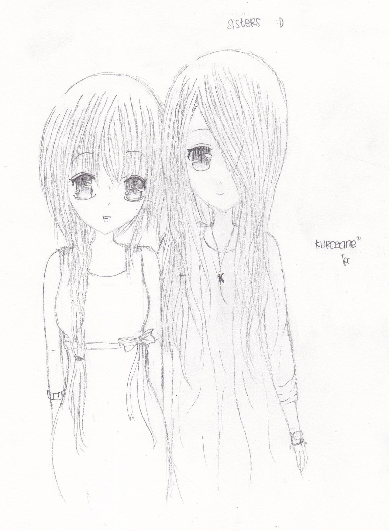 RandomGirl with 2 and 1 eyes by kuroganeko on DeviantArt