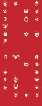UMvC3 Icons - Whole Cast WIP