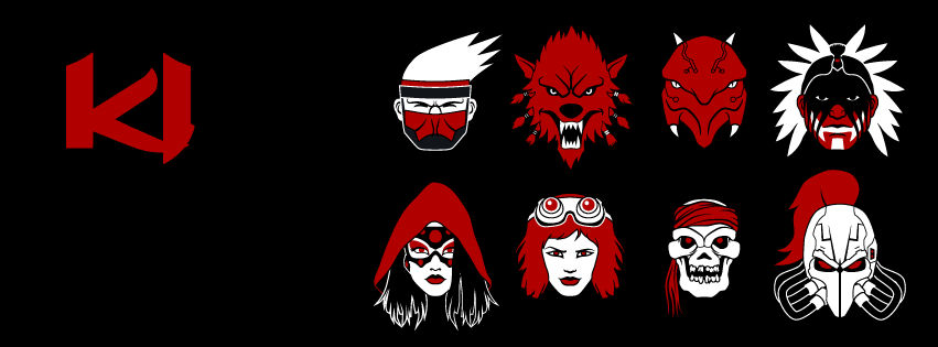 Killer Instinct Icons - Facebook cover