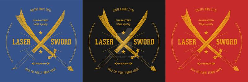 Tibetan Steel Laser Sword T-shirt