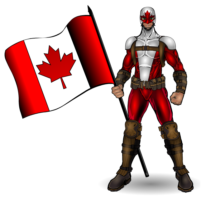 Happy Canada Day Capt. Canuck 2015 by Smitty309