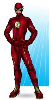 The Flash (TV costume) Dec 2016