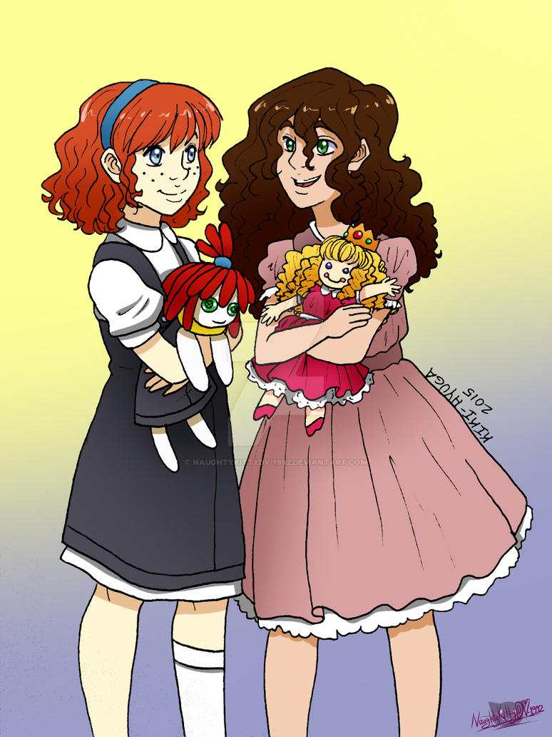 Collab Lily And Sally By Naughtykittydv 1992 On Deviantart