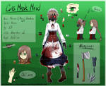 -CP/Normal OC- Gas Mask Maid/Mary REF 2018