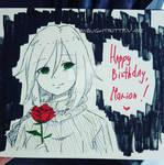 -2.11.2019- Happy Birthday, Marion/Mary!
