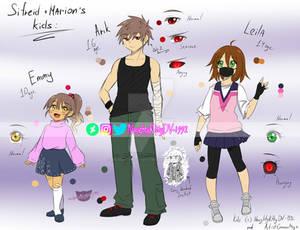 [COLOR SKETCH] Sifreid+Marion's kids