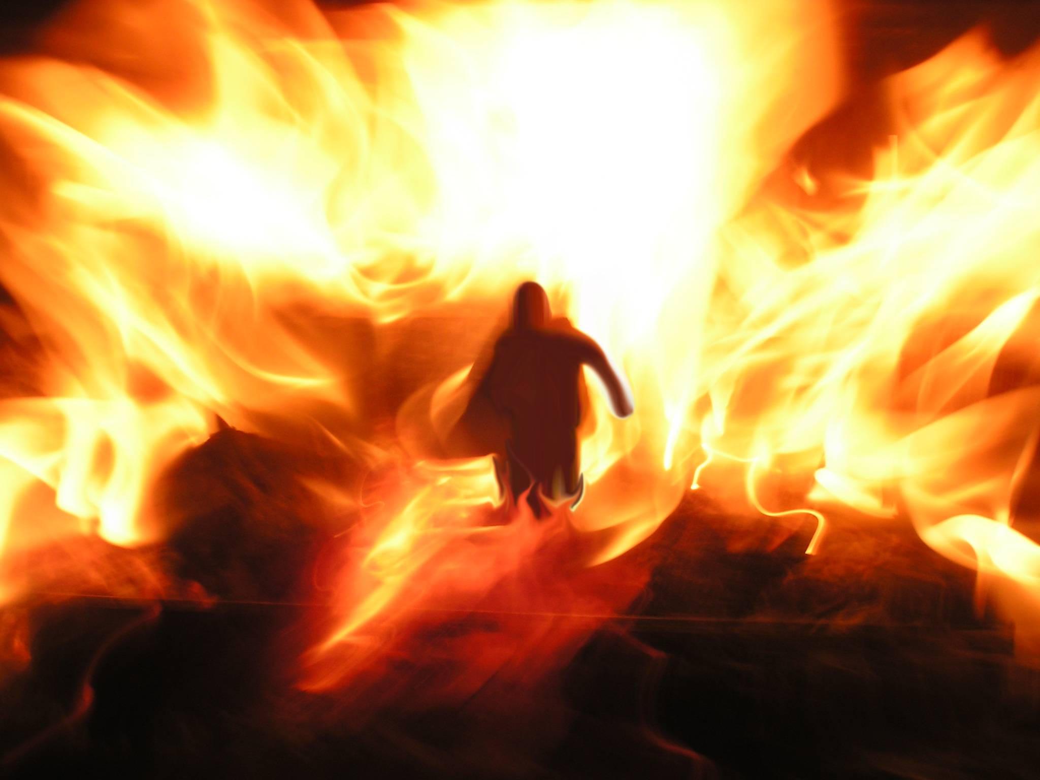 Fire Man by lukeroberts