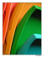 Technicolour Chairs by lukeroberts