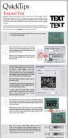 QuickTips: Textured Text by lukeroberts