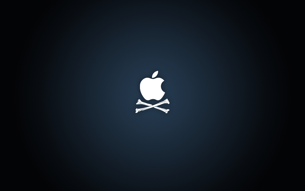 Pirate Apple by lukeroberts