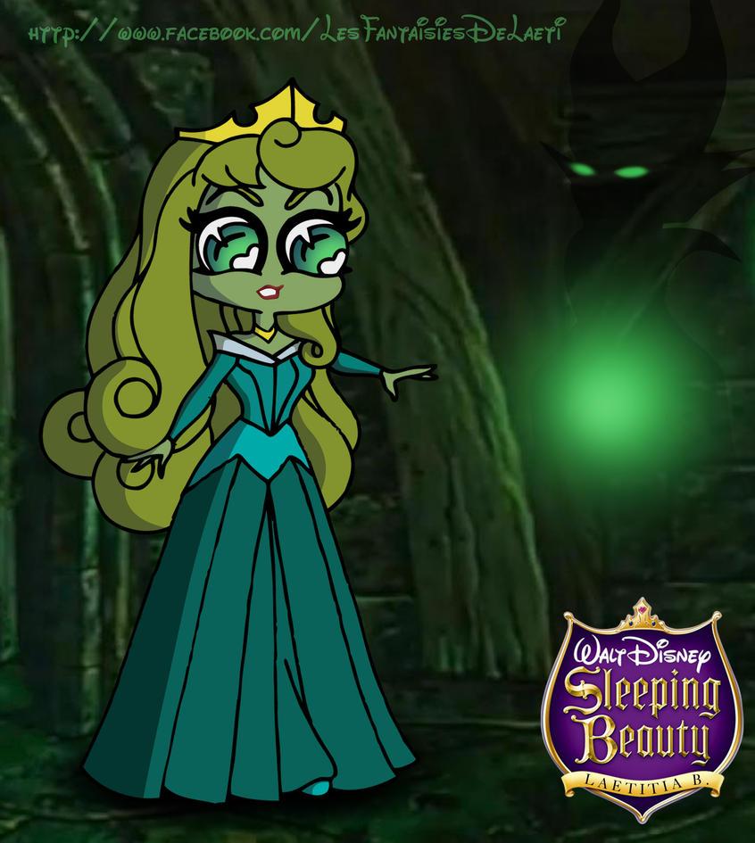 princess aurora and maleficent by laetcroft on deviantart