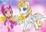 Princess Starla and Sunstar