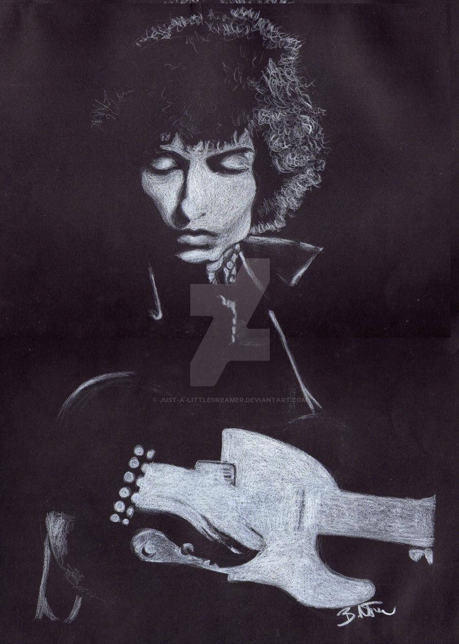 Bob Dylan by Just-a-LittleDreamer