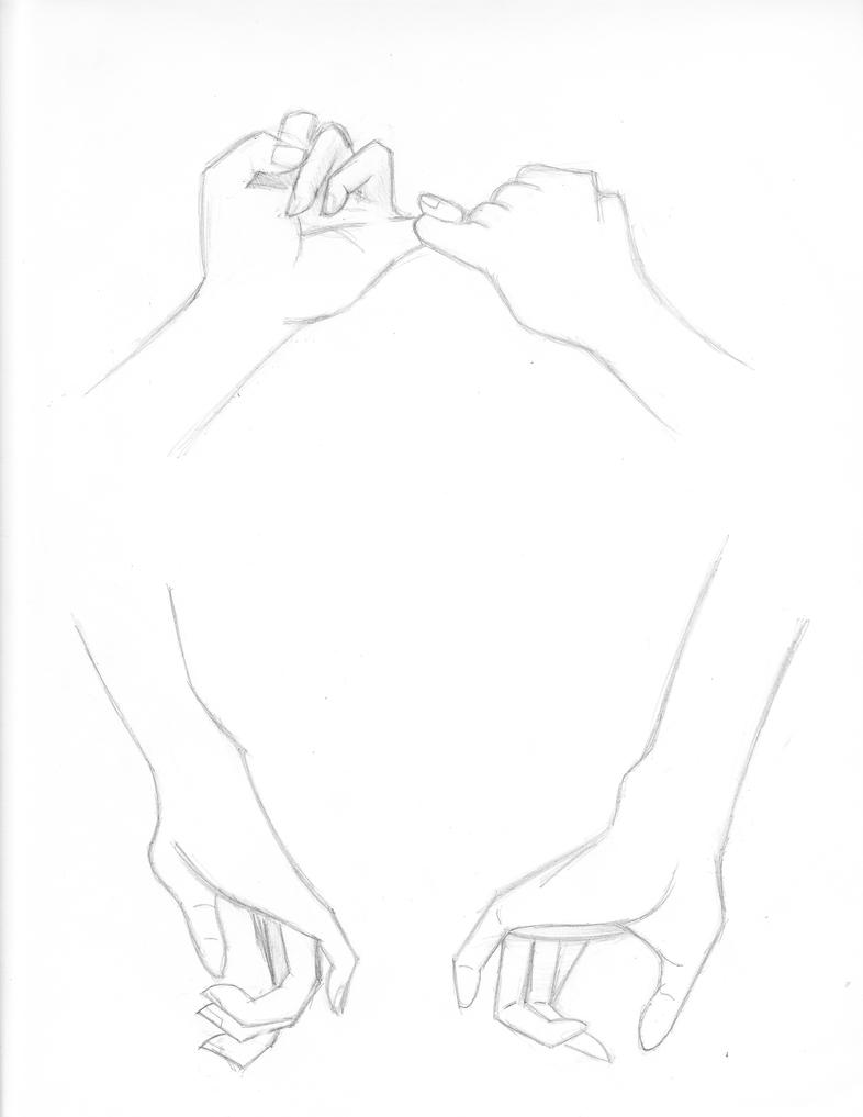 the gallery for gt drawing of holding hands tumblr
