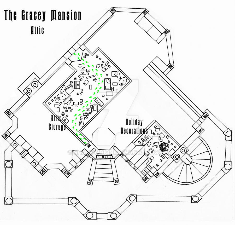 Haunted mansion attic floor plan wip by shadowdion on for Haunted mansion blueprints