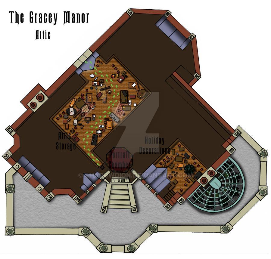 Haunted mansion attic floor plan by shadowdion on deviantart for Haunted mansion blueprints