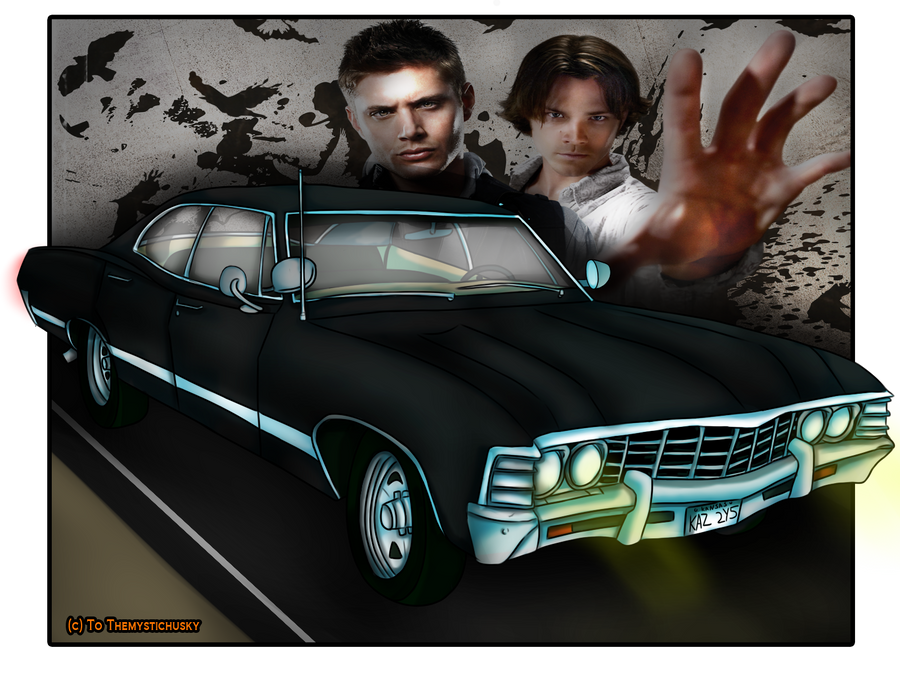 Supernatural Chevy Impala by Themystichusky