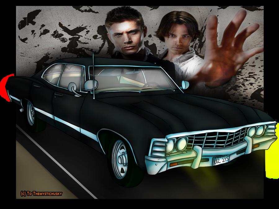 Supernatural Chevy Impala by Themystichusky