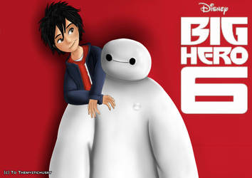 Hiro and baymax by Themystichusky
