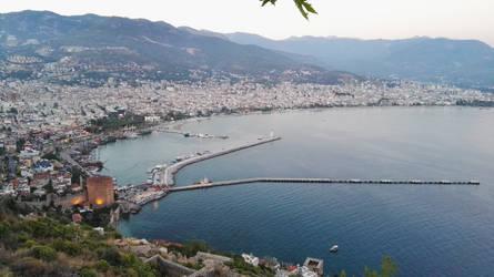 Turkey city Antalya by FreezeXY