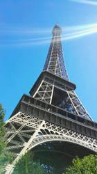 Eiffel tower - Paris by FreezeXY