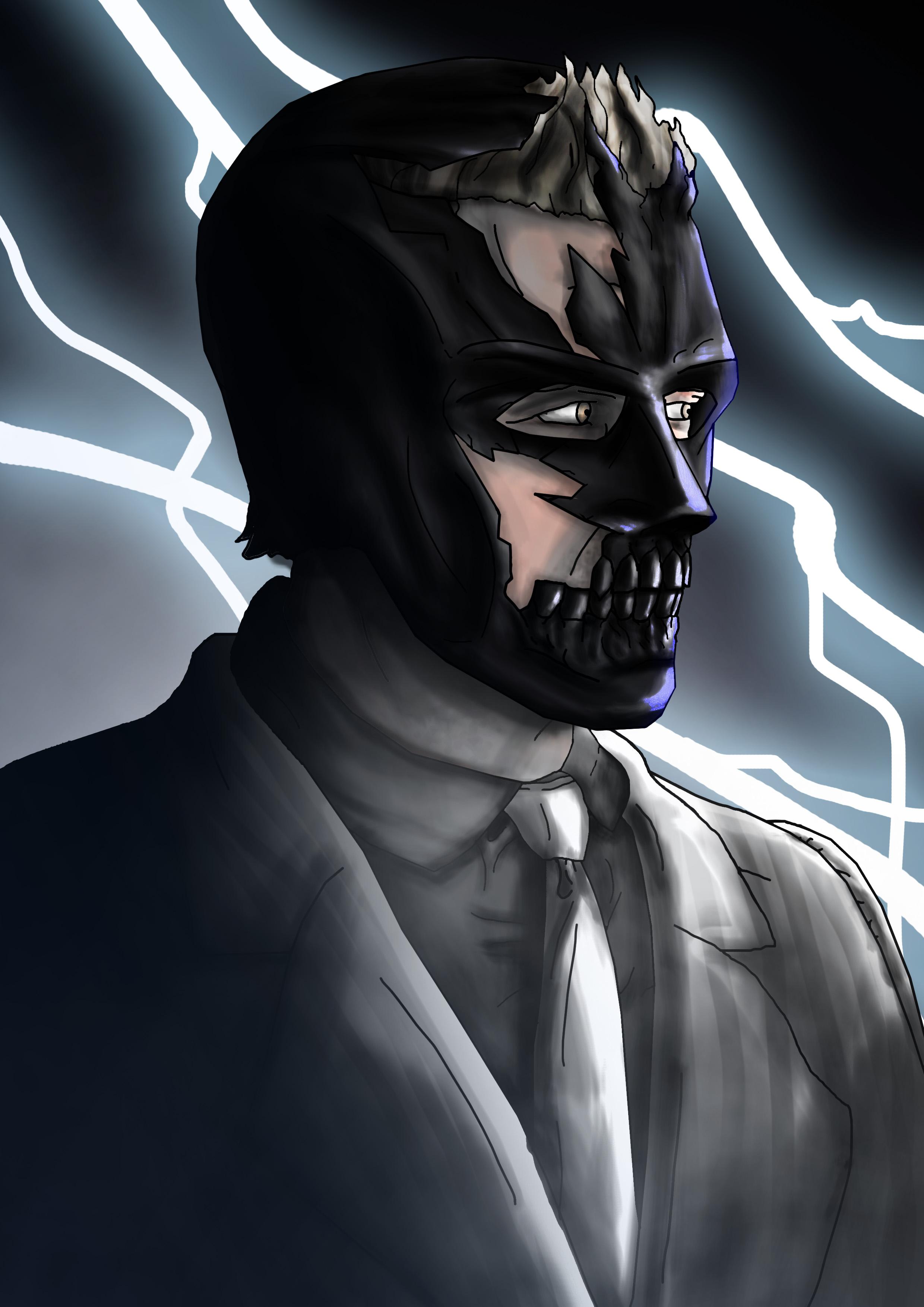 Black Mask Ewan Mcgregor With Mask By Digestingbat On Deviantart