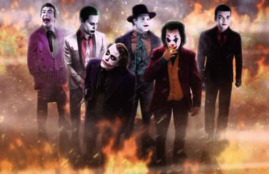 Joker 'Dogs, Chasing Cars' by DigestingBat
