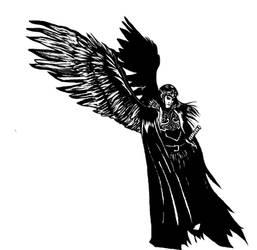 Furfur Angel by blackgarou