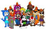 The Banana Splits meets Mario and Friends