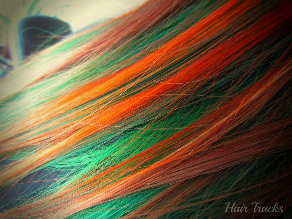 orange and green hair wwwpixsharkcom images