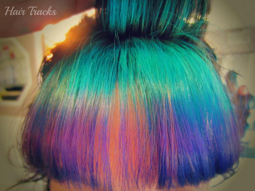 Turquoise Hair Tumblr Hair :: elumen turquoise fade