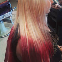 Blonde to Red. by ImHerMonster