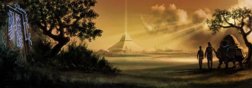 Landscape by Ninni-V