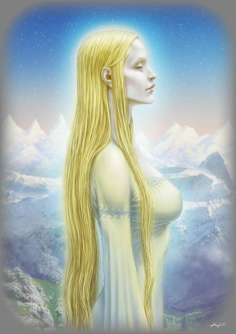 Elf of the Vanyar by Ninni-V