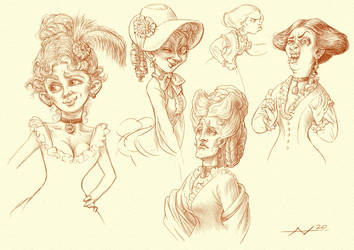 Victorian People - Characters