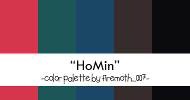 Homin Color Palette by firemoth007