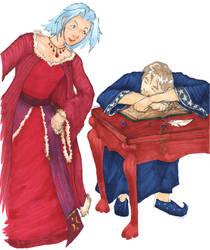Wizard Flirting by arilla