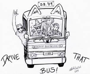 Desert Bus 2009 by arilla