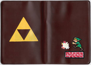 Link Book-Cover by arilla