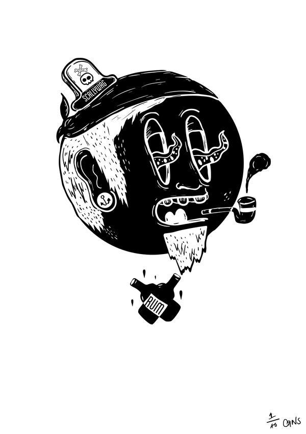 Scallywag Logo by crns