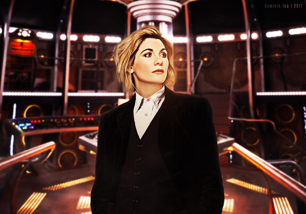Jodie Whittaker Doctor Who Wallpaper: Number Thirteen By Dalekdom-fanart On DeviantArt