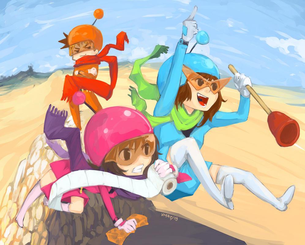 Hiviko Unti-Team in Desert by vmat