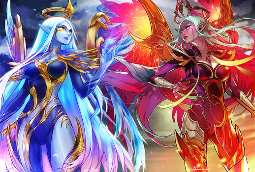 Dawnbringer and Nightbringer Soraka