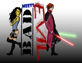 Bad Meets Evil by TaliKuti