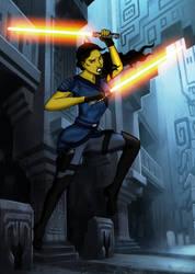 Unlikely Jedi by TaliKuti