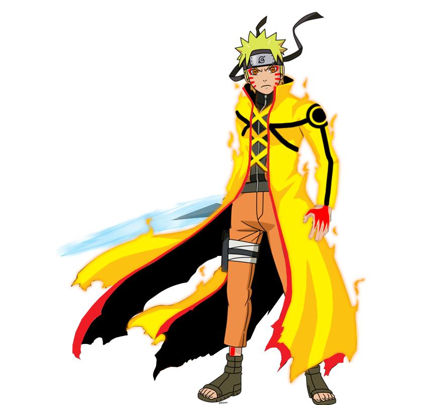 Naruto Kyuubi + Sennin mode by tuanenam