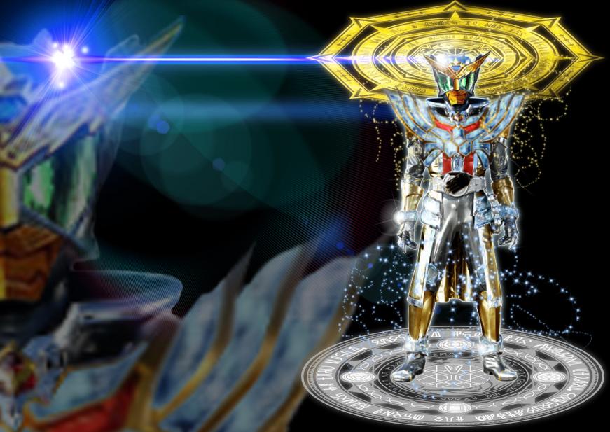 Kamen Rider Wizard Fusion: Infinity Beast Dragon by tuanenam