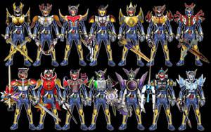 Kamen Rider Gaim: Heisei Arms(Final Form Version) by tuanenam