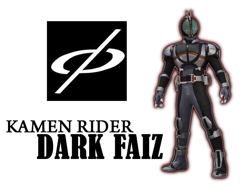 Kamen Rider Dark Faiz by tuanenam on DeviantArt